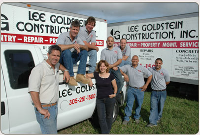 Lee Goldstein Construction Team